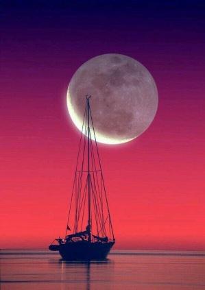 luna llena roja
