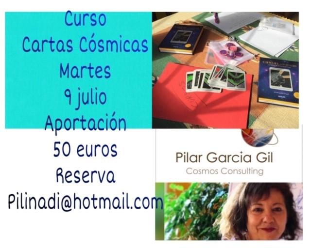 curso cartas cosmicas julio 2019